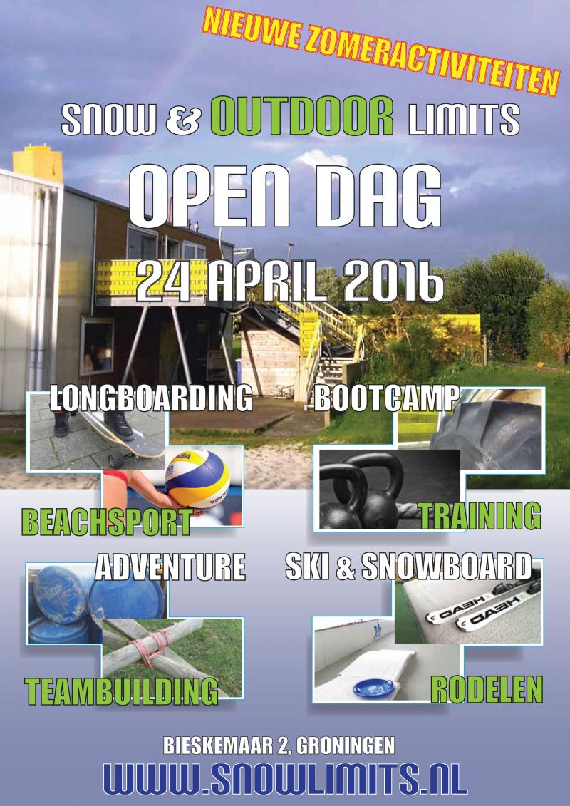 Open dag Snow en Outdoorlimits
