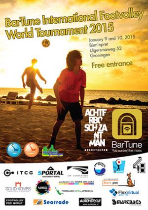 Bar Tune International Footvolley World Tournament 2015